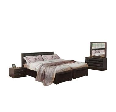 תמונה של חדרי שינה: חדר שינה הפרדה יהודית ראש אחיד דגם רומה