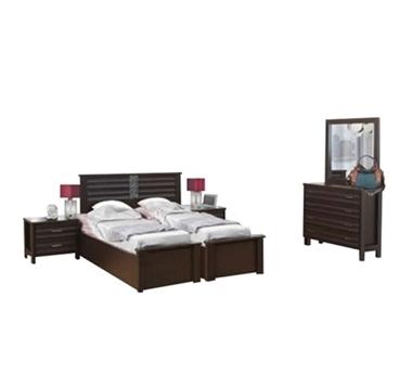 חדרי שינה: חדר שינה הפרדה יהודית ראש אחיד דגם שיבולת