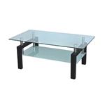 תמונה של מזנונים ושולחנות טלוויזיה: שולחן סלון זכוכית מרהיב ביופיו דגם ונגר