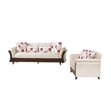 מערכות ישיבה: סלון 2 + 3 נפתח למיטה דגם ניל