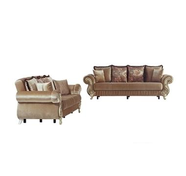 מערכות ישיבה: סלון 2 + 3 נפתח למיטה דגם רומא