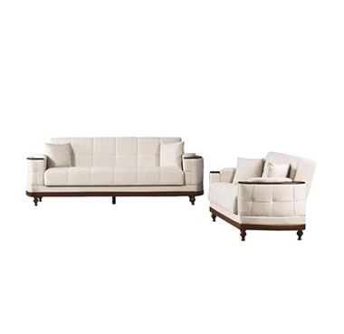 מערכות ישיבה: סלון 2 + 3 נפתח למיטה דגם ריטה