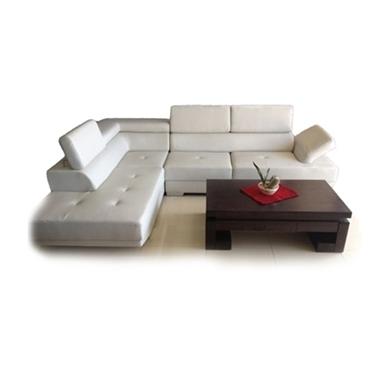 מערכות ישיבה: סלון פינתי מדמוי עור דגם רומא