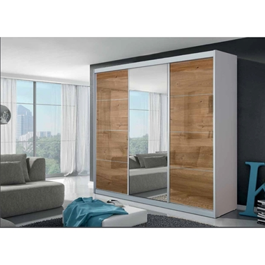ארונות הזזה: ארון הזזה 3 דלתות בעיצוב קלאסי דגם  אלה