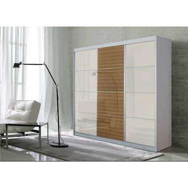 תמונה של  ארונות הזזה: ארון הזזה 3 דלתות בעיצוב קלאסי דגם  אגס