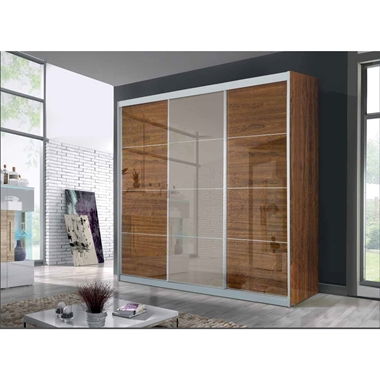 ארונות הזזה: ארון הזזה 3 דלתות בעיצוב קלאסי דגם  אדר