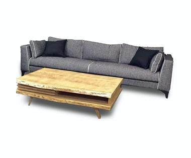 מערכות ישיבה: ספה תלת יוקרתית