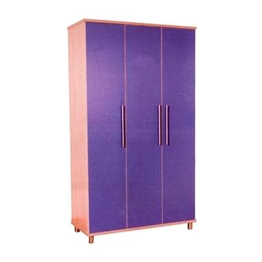 ארונות בגדים: ארון 3 דלתות מעוצב דגם בצלאל