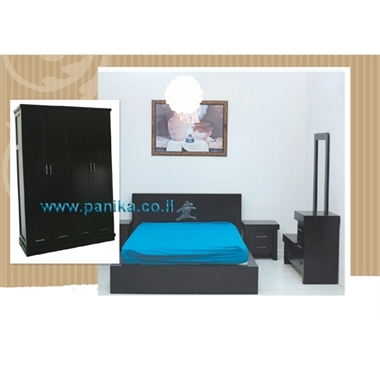 חדרי שינה: חדר שינה דגם אילת כולל ארון במחיר מבצע