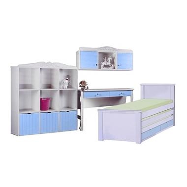 תמונה של חדרי ילדים: חדר ילדים מעץ מלא דגם גילה