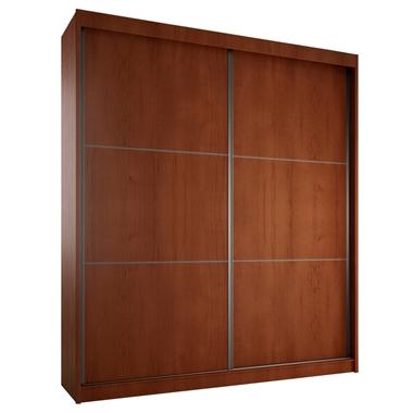 תמונה של ארונות הזזה: ארון הזזה בחלוקה ל-2 דלתות בעיצוב קלאסי דגם תבל