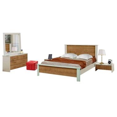 חדרי שינה: חדר שינה זוגי דגם טרויה