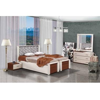 תמונה של חדרי שינה: חדר שינה הפרדה יהודית ראש אחיד דגם מנשה