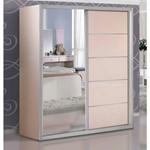תמונה של ארונות הזזה: ארון הזזה 2 דלתות בעיצוב קלאסי דגם אדלין