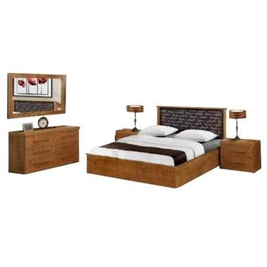 חדרי שינה: חדר שינה זוגי דגם סלוניקי