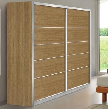 ארונות הזזה: ארון הזזה 2 דלתות בעיצוב קלאסי דגם ארז