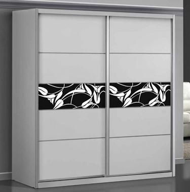 ארונות הזזה: ארון הזזה 2 דלתות מרהיב ביופיו דגם לורד