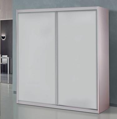 ארונות הזזה: ארון הזזה 2 דלתות קלאסי דגם ארז לייט