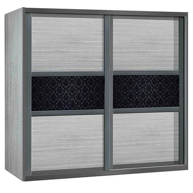 ארונות הזזה: ארון הזזה 2 דלתות בעיצוב קלאסי דגם טורונטו