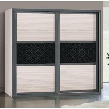 תמונה של ארונות הזזה: ארון הזזה 2 דלתות בעיצוב קלאסי דגם אתונה