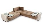 תמונה של מערכות ישיבה:סלון פינתי נפתח למיטה דגם  גלקסי