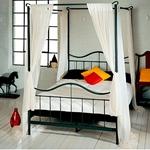 תמונה של מיטות: מיטה זוגית עשויה מתכת דגם אביאל