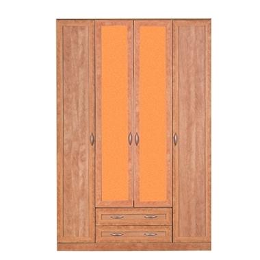 תמונה של ארונות בגדים: ארון 4 דלתות + 2 מגירות דגם 513