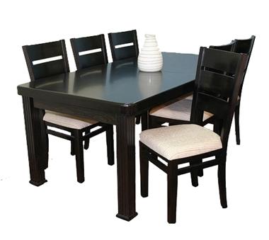 פינת אוכל יוקרתית שולחן + 6 כסאות דגם 333