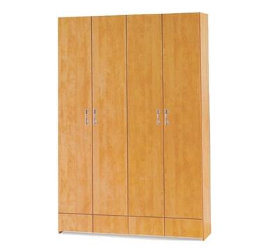 ארונות בגדים: ארון 4 דלתות מקסים דגם רונית סנדוויץ'