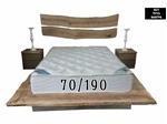 תמונה של מזרנים: מזרן יוקרתי וייחודי דגם ברזיל  70/190 מבית פניקה עולם השינה