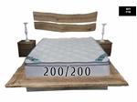 תמונה של מזרנים: מזרן איכותי, דגם פריז 200/200 מבית פניקה עולם השינה