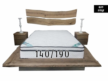 מזרנים: מזרן איכותי, דגם קנדה 140/190 מבית פניקה עולם השינה