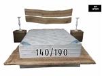 תמונה של מזרנים: מזרן זוגי יוקרתי וייחודי דגם מקסיקו  140/190 מבית פניקה עולם השינה