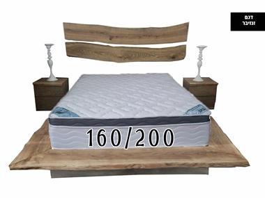 מזרנים: מזרן זוגי  יוקרתי וייחודי דגם זנזיבר 160/200 מבית פניקה עולם השינה