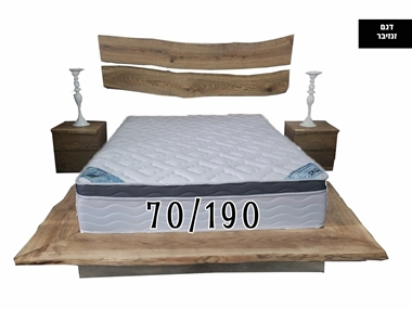 מזרנים: מזרן זוגי  יוקרתי וייחודי דגם זנזיבר 70/190 מבית פניקה עולם השינה