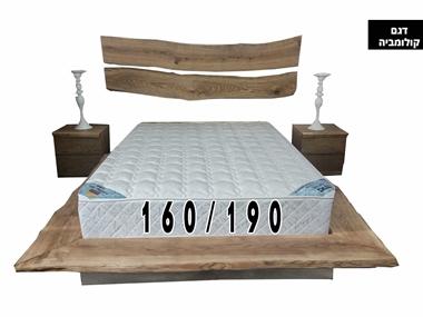 מזרנים: מזרן ייחודי זוגי דגם קולומביה 160/190 מבית פניקה עולם השינה