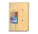 תמונה של ארונות בגדים: ארון 4 דלתות במחיר משתלם דגם אביב סנדוויץ'