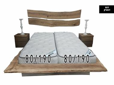 תמונה של מזרנים:  2 מזרנים איכותיים,80/190x2 , דגם דנמרק, מבית פניקה מרכז השינה