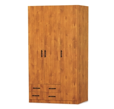ארונות בגדים: ארון 3 דלתות במחיר משתלם דגם ירון סנדוויץ'