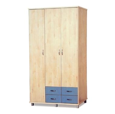 ארונות בגדים: ארון 3 דלתות במחיר משתלם דגם אשר סנדוויץ'