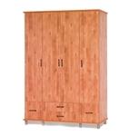 תמונה של ארונות בגדים: ארון 4 דלתות במחיר משתלם דגם יפן סנדוויץ'