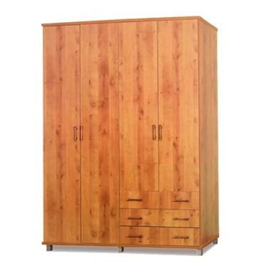 תמונה של ארונות בגדים: ארון 4 דלתות במחיר משתלם דגם עדי סנדוויץ'