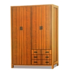 תמונה של ארונות בגדים: ארון 4 דלתות במחיר משתלם דגם רוני סנדוויץ'