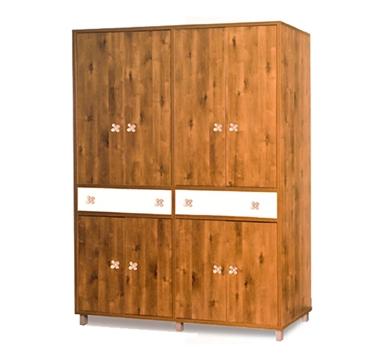 תמונה של ארונות בגדים: ארון 4 דלתות במחיר משתלם דגם שושנה סנדוויץ'