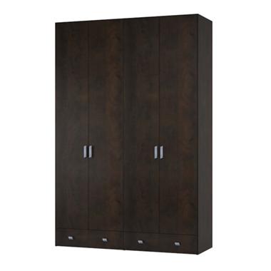 ארונות בגדים: ארון בגדים 4 דלתות דגם ברק מ.ד.פ