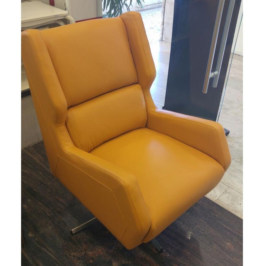 מותג חדש פניקה רהיטים. כורסאות: כורסת עור מעולה דגם רוקי במבצע חיסול DB-03
