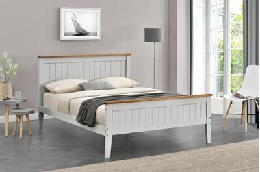 מיטות: מיטה זוגית דגם אמילי