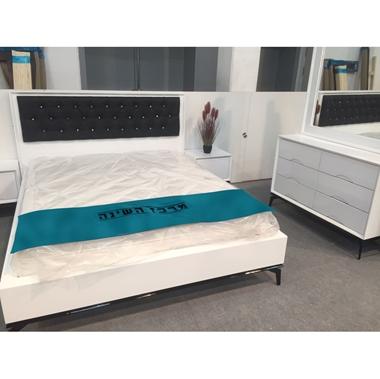 חדרי שינה: חדר שינה זוגי עץ מלא דגםגל