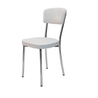 כסאות: כסא מתכת במראה קלאסי דגם  גלית