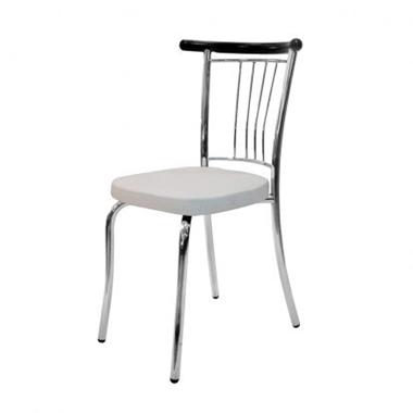 תמונה של כסאות: כסא מתכת לפינת אוכל דגם  קווין ראש מתכת